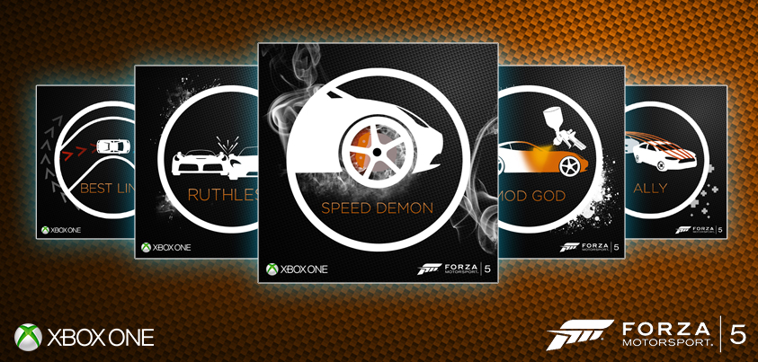 Xbox: Forza Motorsport Role: (Graphic Design/Illustration)