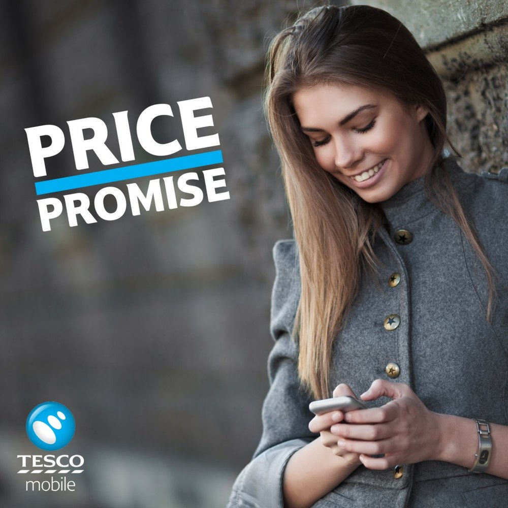Tesco Mobile: Price Promise   Role: Role: (Photography/Design)