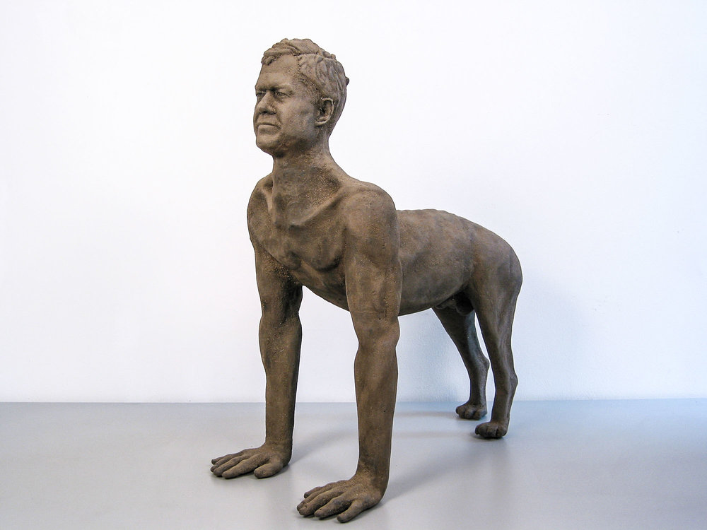 Study for Beast (Self-Portrait), 1987.