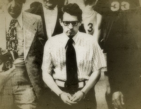 James Ruppert after his arrest.