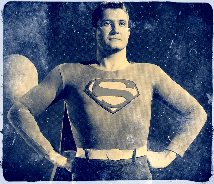 A publicity shot for the  Superman  television series