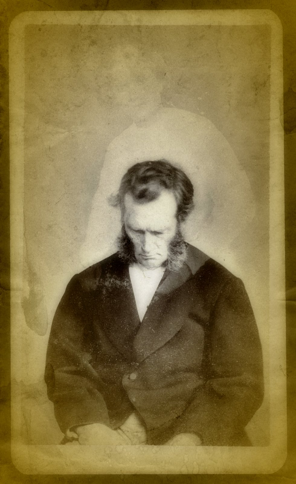 "One of Mumler's ""spirit photographs"""