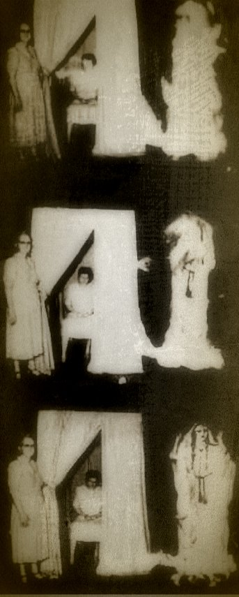"An allegedly authentic spirit materialization that occurred at Camp Chesterfield, a Spiritualist community in Indiana. The medium can be shown inside of a spirit cabinet while the ""ghost"" takes shape."