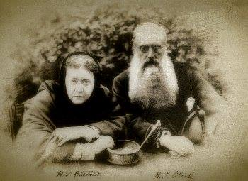 Henry Steel Olcott and Madame Helena Blavatsky