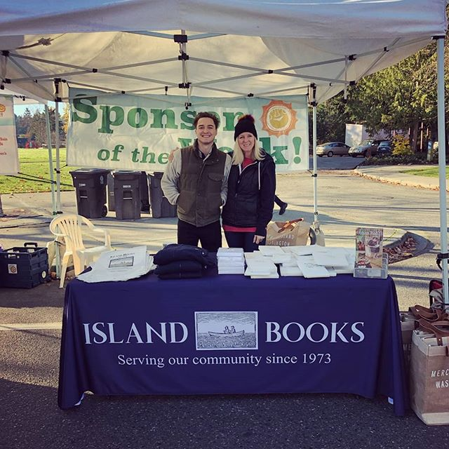 Come say hi to Island Books!