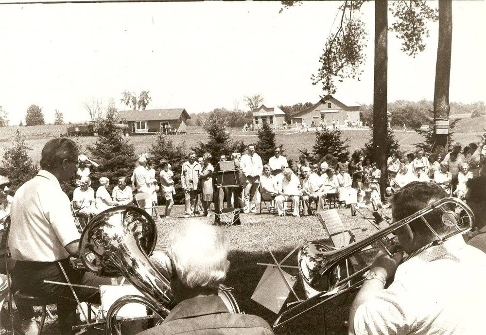 Pinecrest Historical Village dedication, Sunday June 26, 1977