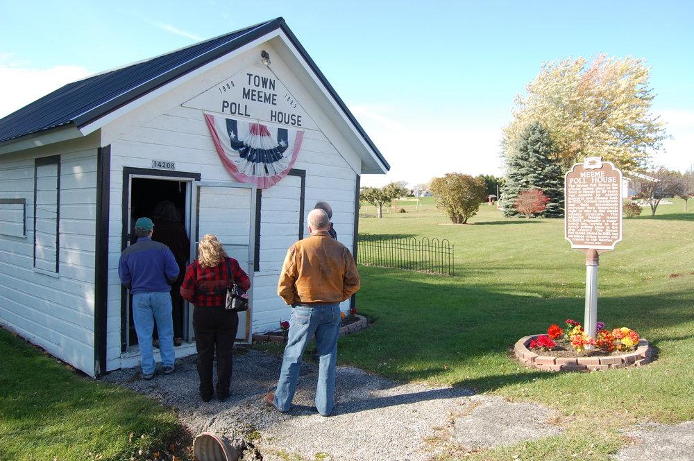 Meeme Poll House, 2013