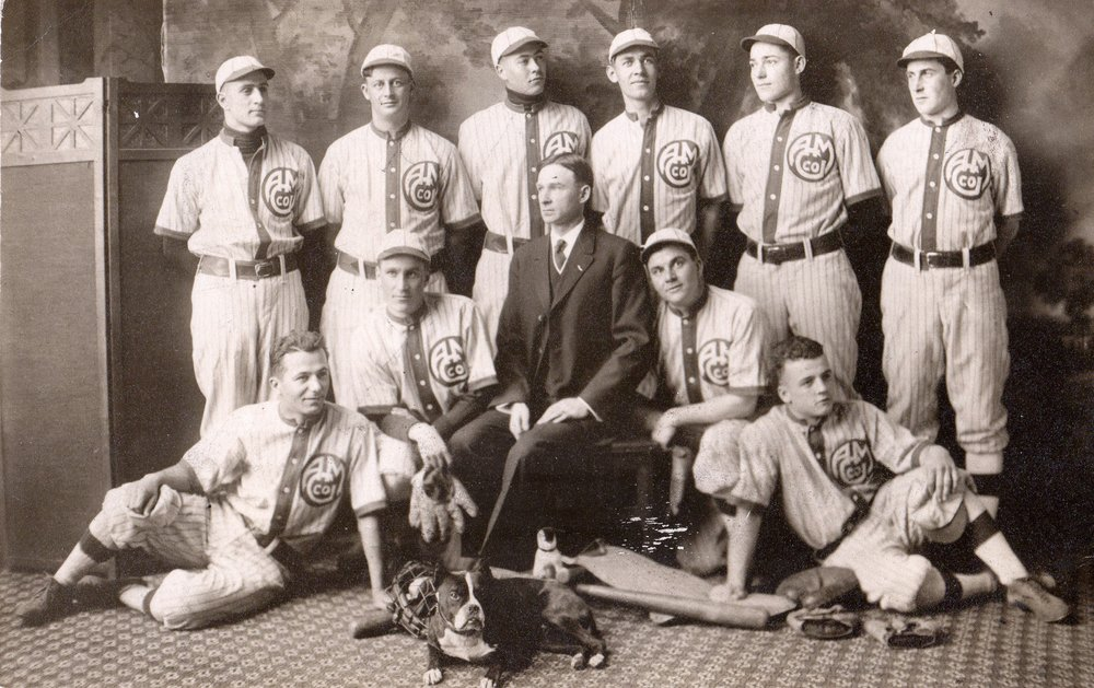 Aluminum Goods Base Ball team, circa 1910