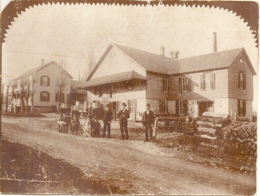 Town of Liberty - Pleasant View Cheese Factory, circa 1900