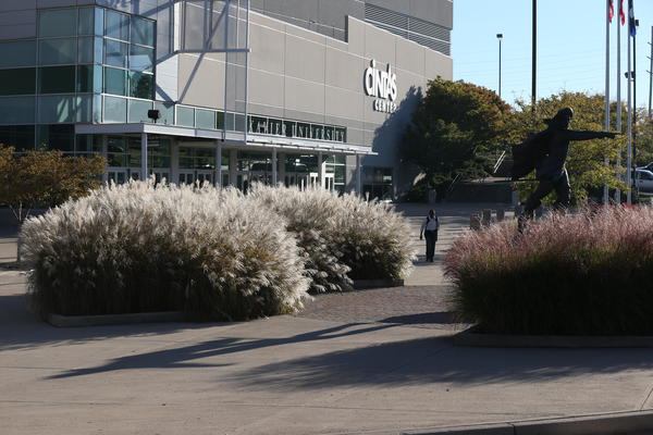 The award-winning Cintas Center at Xavier University