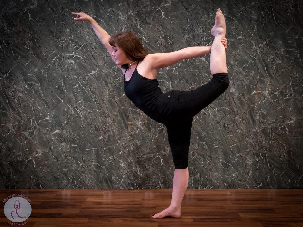 Tara Vaughn, Yoga Instructor, Ballerina & Barre Instructor  Specialty Certifications: Yoga Wall, Ballet  Yoga Pilates Wednesdays @ 4:45PM & Fridays @ Noon  All Levels Flow Fridays @ 10:00 AM