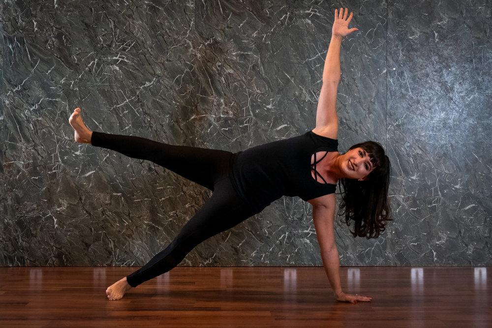 Mandi Lutha, Yoga Instructor  Special Certifications: Yoga Wall  Yoga Pilates Sundays @ 4:00 PM