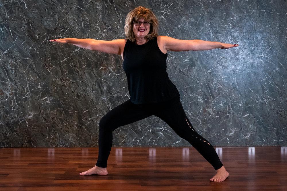 Kathy Wood, Yoga Instructor  Kids Yoga Tuesdays @ 4:20 PM