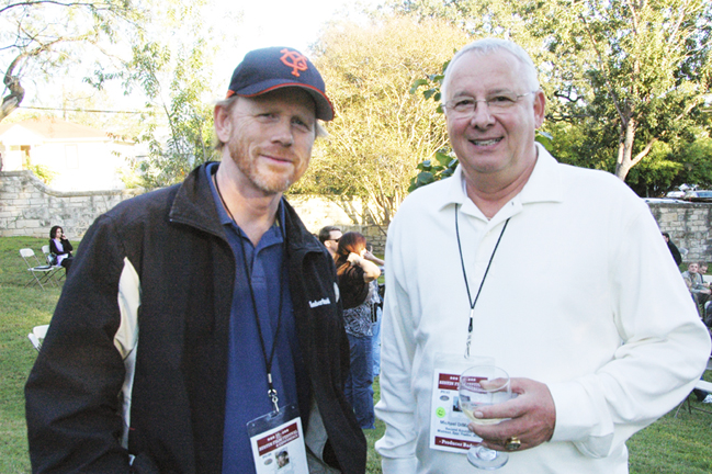 In Austin with Ron Howard
