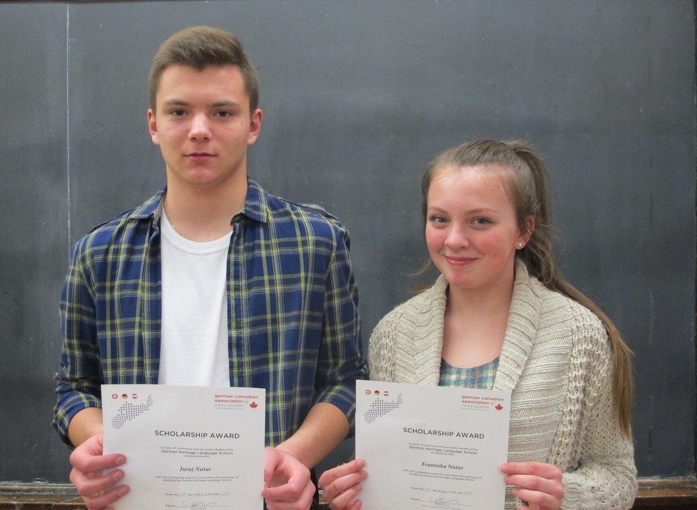 2017 GCA Scholarship: Juraj and Franziska Nutar