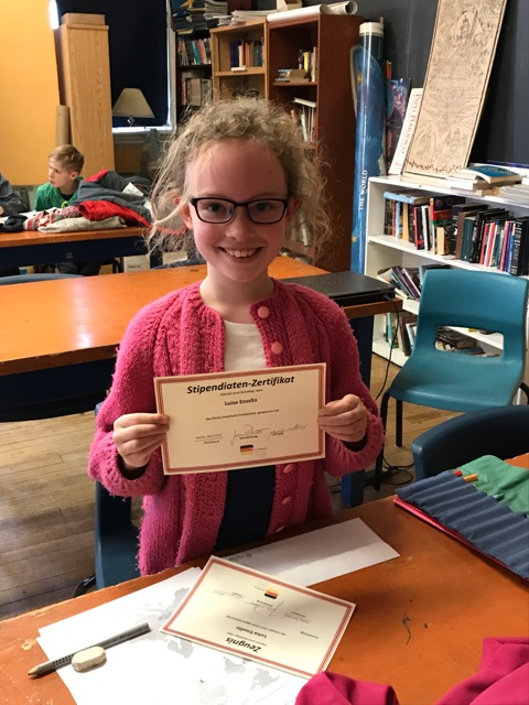2018 Gerta Josenhans Scholarship:  Luisa Ensslin