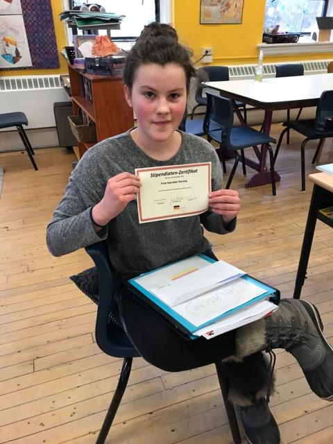 2018 Gerta Josenhans Scholarship: Frida Kaeubler-DeLong