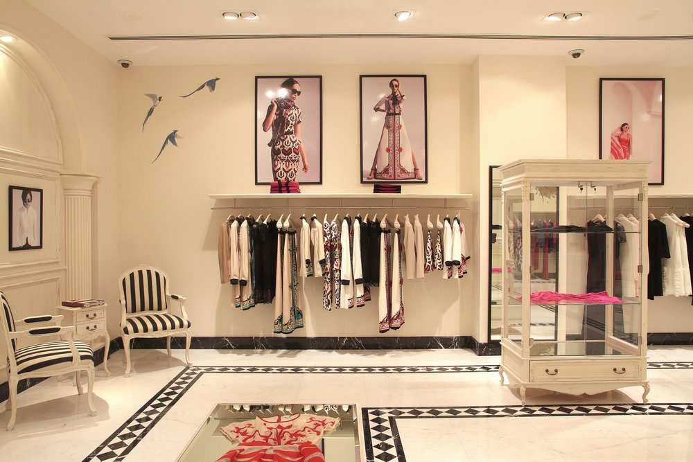 Temperley stores, London & Qatar