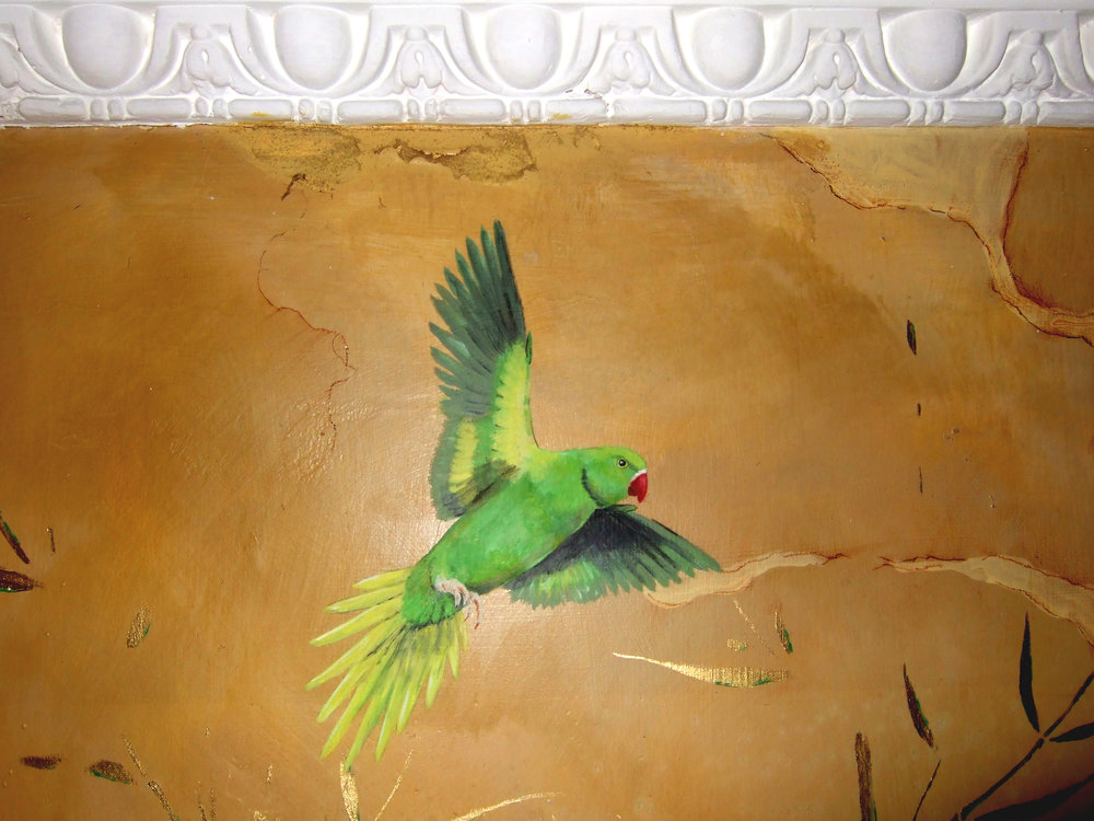 Flying Parakeet 2Frederick Wimsett - murals and artistic design - other projects .jpg