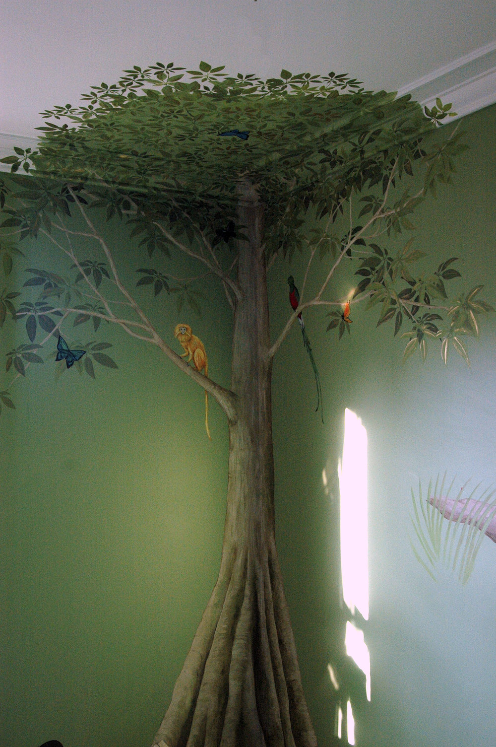 Rainforest Tree Frederick Wimsett - murals and artistic design - other projects.jpg