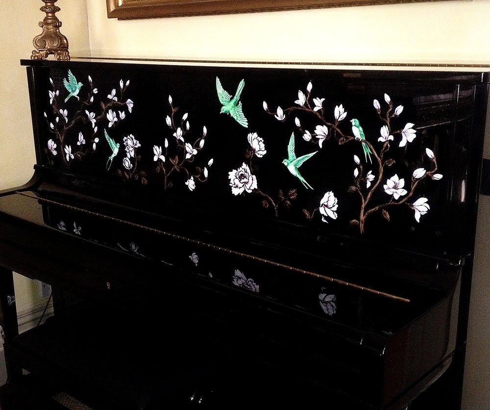 MAGNOLIA CHINOISERIE PIANO