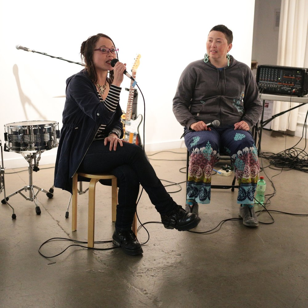 2/1/16 Lydia's Funeral Video Bay Area Launch: Sam Chanse, Claire Light, & The Invisible Cities