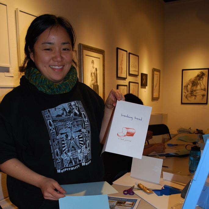 2/6/12 Chapbook Making with Debbie Yee