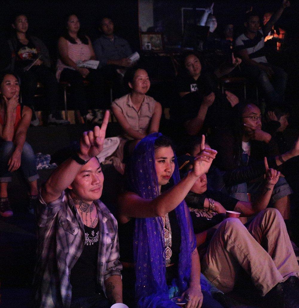 "Audience at Music Showcase Digital photo 11"" x 9"" 2015"