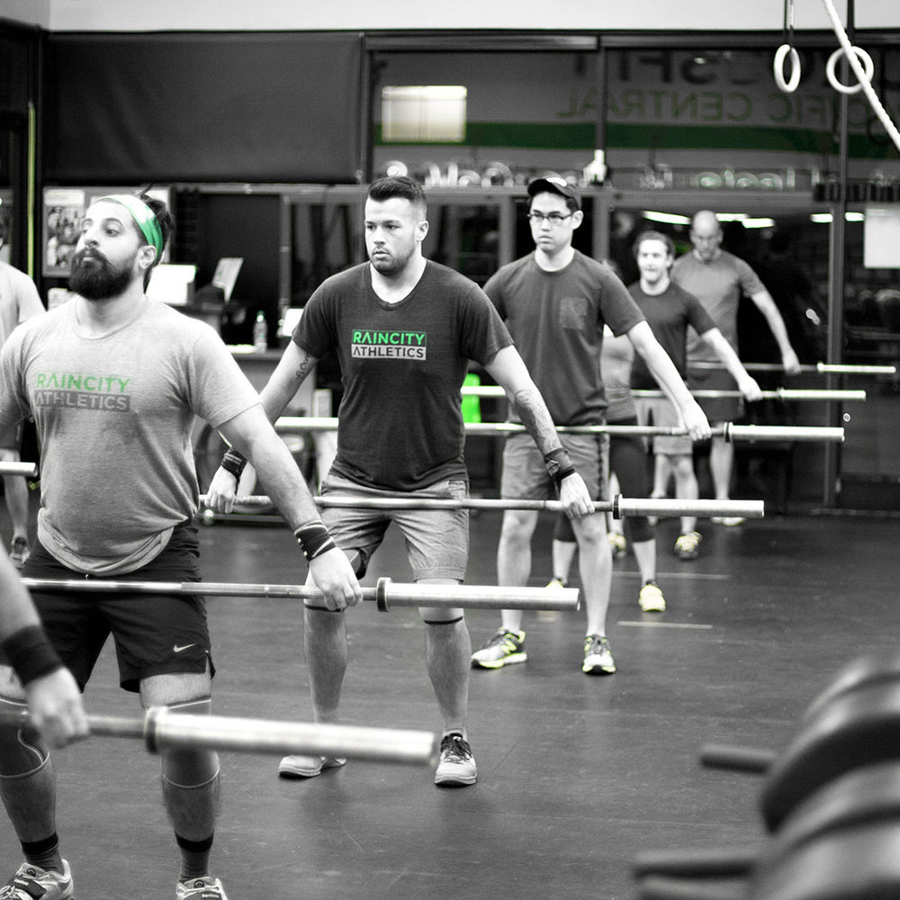 CROSSFIT GROUP CLASS - ★★★   |   60 minsCrossFit is: Constantly varied, functional movements, performed at high intensity.