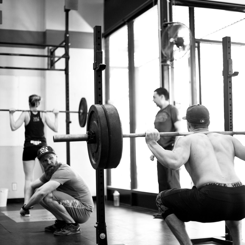 CROSSFIT TEAM WOD - ★★★   |   60 minsCrossFit is: Constantly varied, functional movements, performed at high intensity.