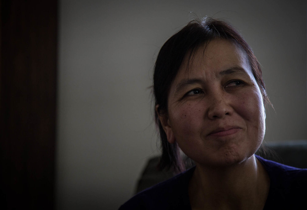 """Lwin reminisces on her time in Myanmar and then Thailand. """"One day I would like to go back to visit,"""" she said. She misses her family that was left behind, despite frequent phono calls and conversations with them. She is saving up the money to go visit with the rest of her family."""
