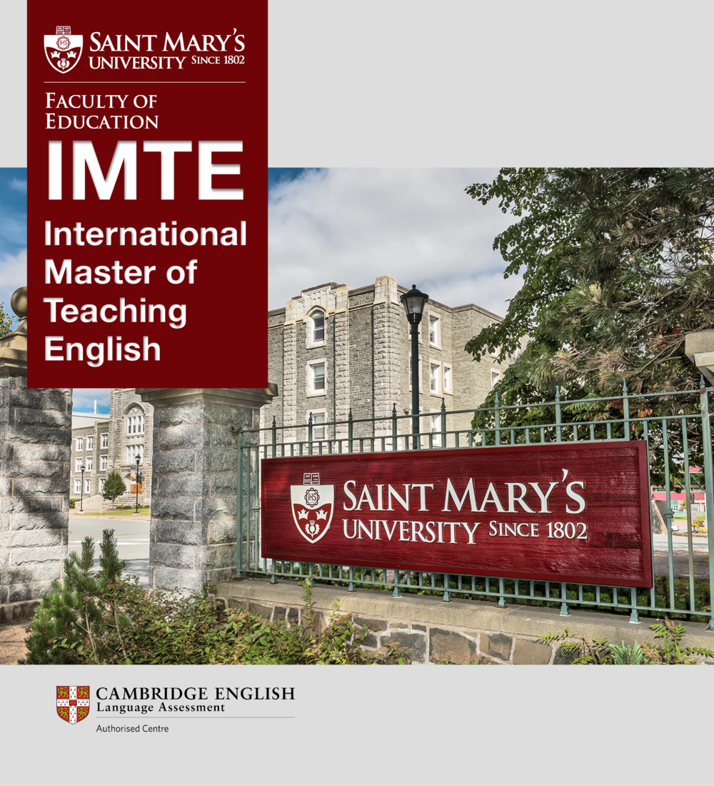 Saint Mary's University Faculty of Education | International Master of Teaching English | Cambridge English Language Assessment Authorized Centre