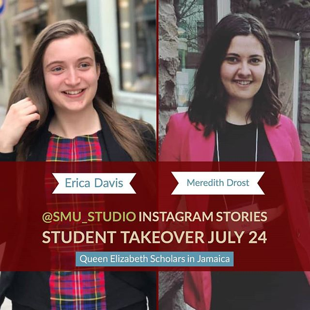 Meredith & Erica have some updates from their @qescholars internships in Jamaica! They'll be added to our story feed throughout the day this #traveltuesday.  #SMUdents: interested in following in their footsteps? Talk to our Global Learning team in Atrium 106 to learn more about this program. Queen Elizabeth Scholarship internships are 3-12 months, and participants receive funding to help cover the cost of travel and other expenses. If you start writing your application now, you could be in Jamaica this winter.  #QEScholars #GoGlobal #DoWhatYouDo #socialenterprise #studyabroad