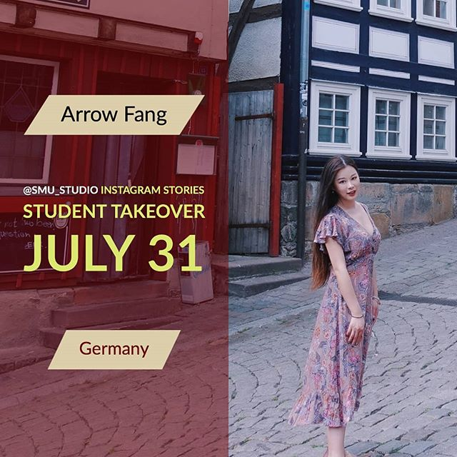 Today we have #traveltuesday stories from Arrow Fang, a @smuhalifax MBA candidate studying European Finance. Arrow is now in Germany for a month.  #DoWhatYouDo #GoGlobal #studyabroad