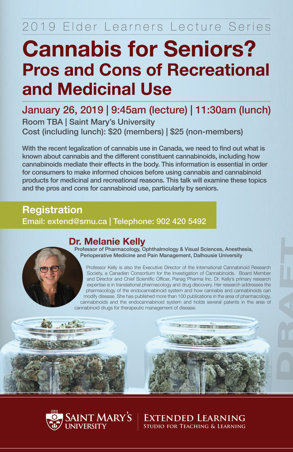 Cannabis for Seniors poster