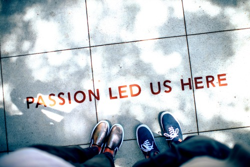 Passion Led Us Here Banner