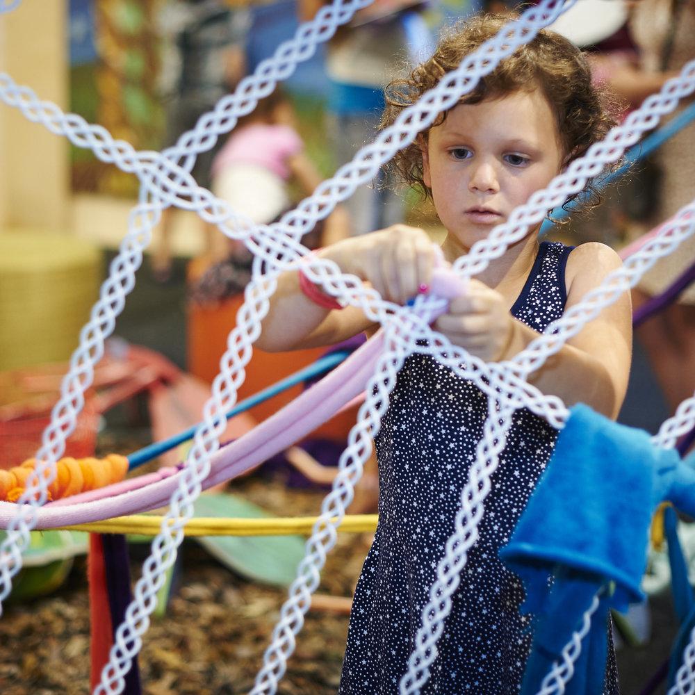weaving wall -