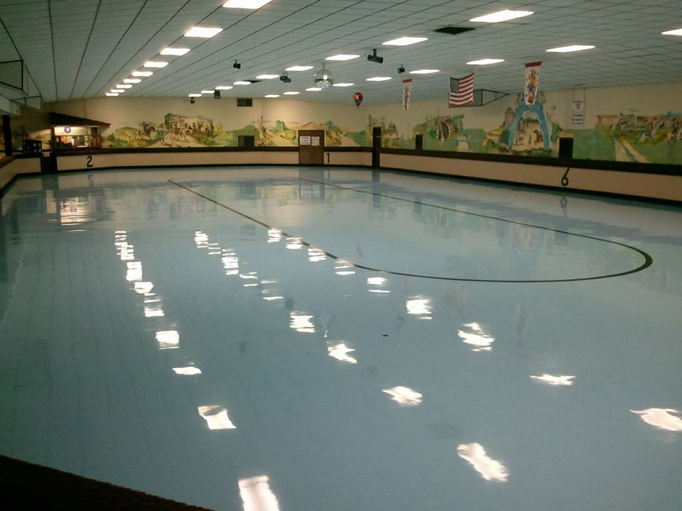 ROLLER DOME SKATING RINK, Coffeyville, Kansas