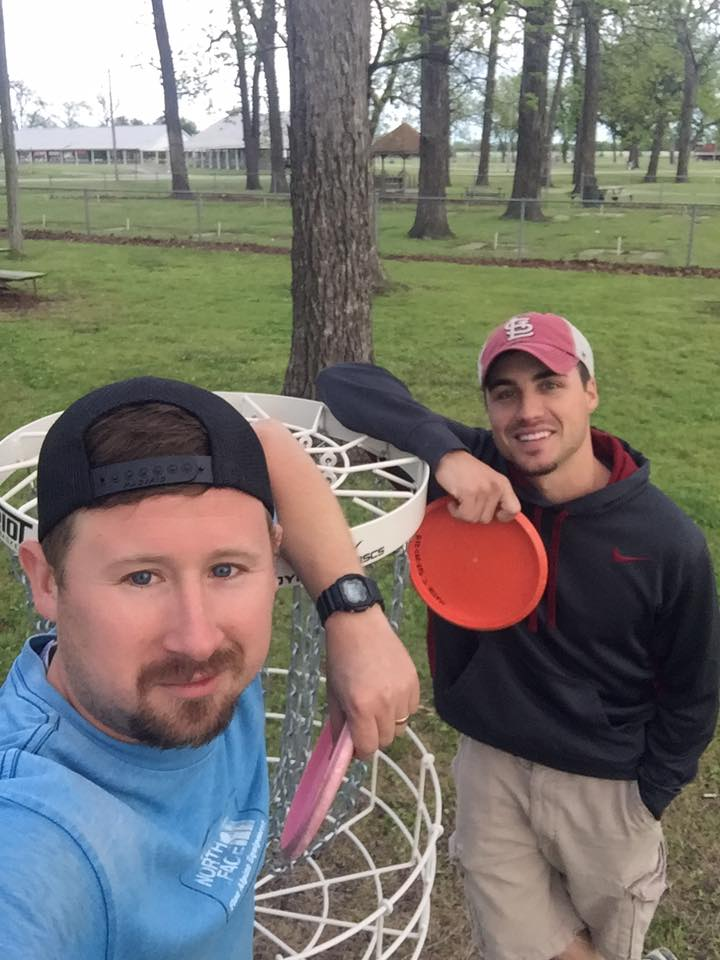 Disc Golf, Walter Johnson Park, Coffeyville, Kansas