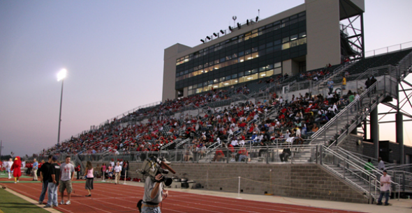 VETERANS MEMORIAL STADIUM, Coffeyville, Kansas