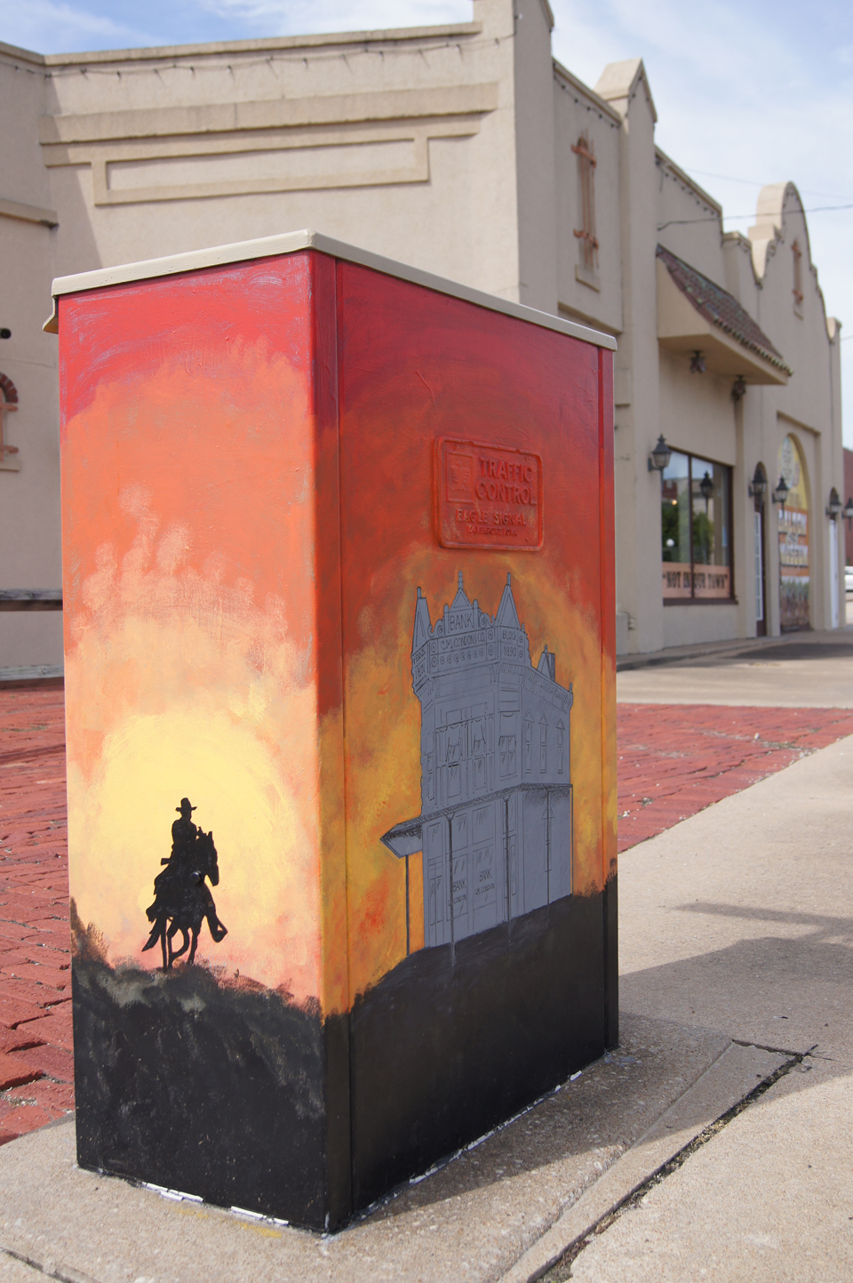 ELECTRIC BOX ART, Coffeyville, Kansas
