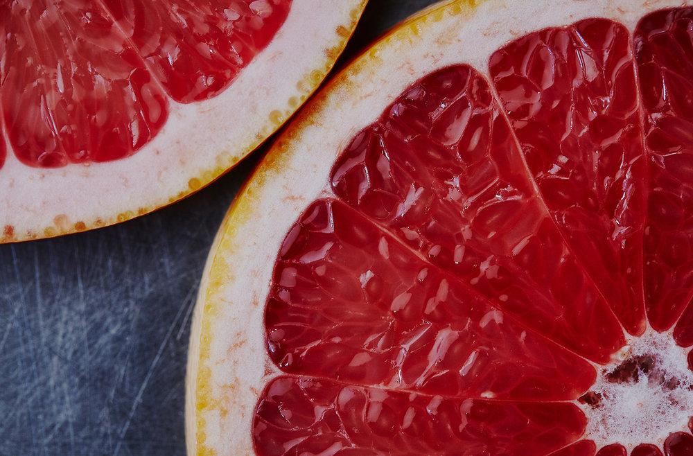 the brightness of Grapefruit -