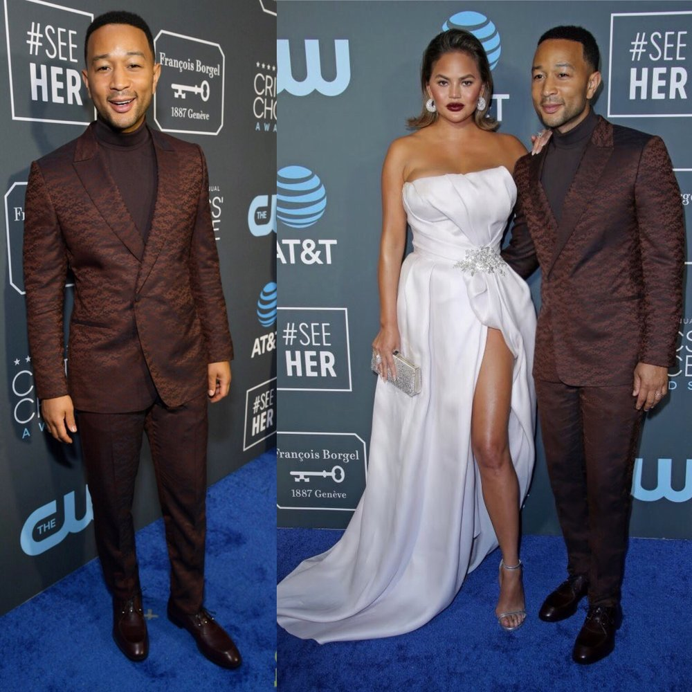 John Legend At The 2019 Critics Choice Awards And Wins Best Movie