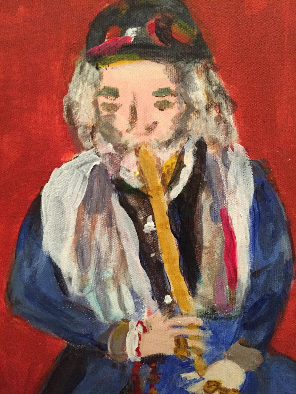 The Turkish Flute Player