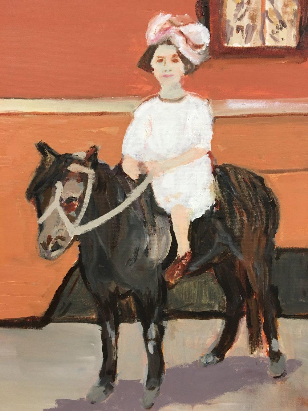 Rose on a Pony