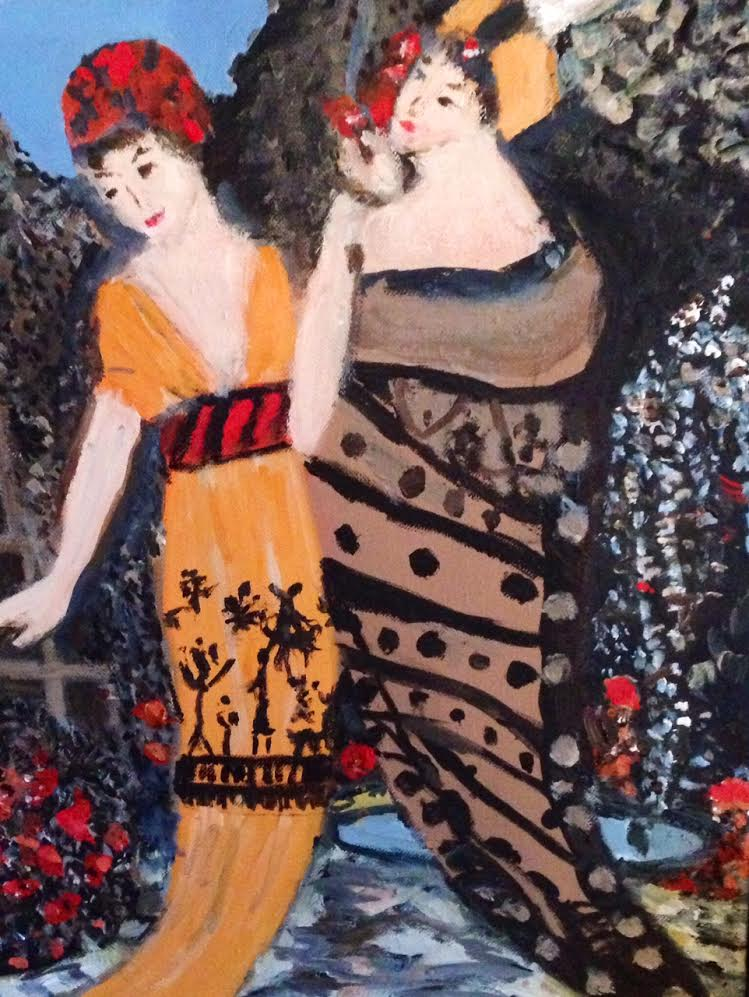 Fashionable Women (after Paul Poiret)