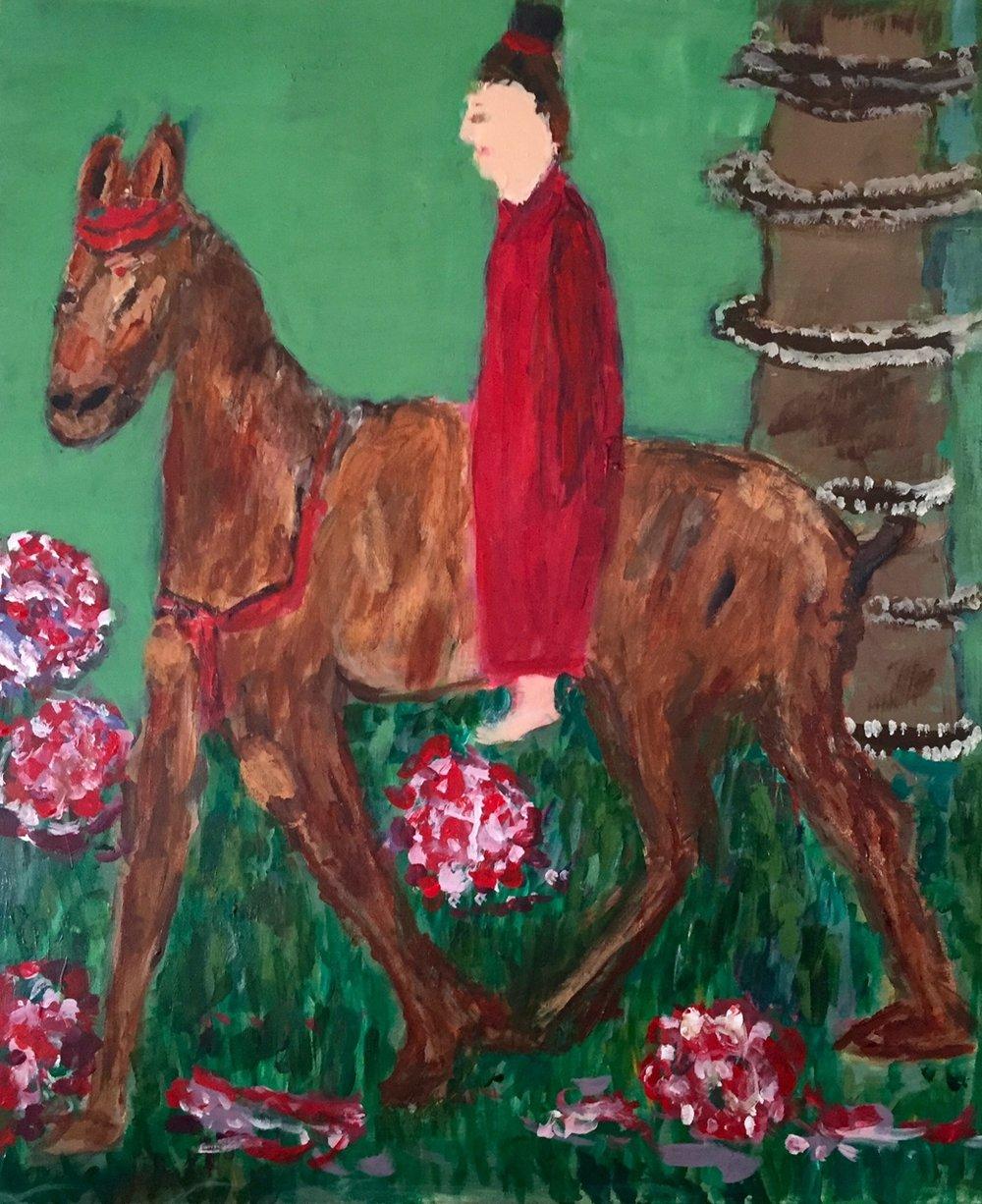 Tang Dynasty Horse and Rider