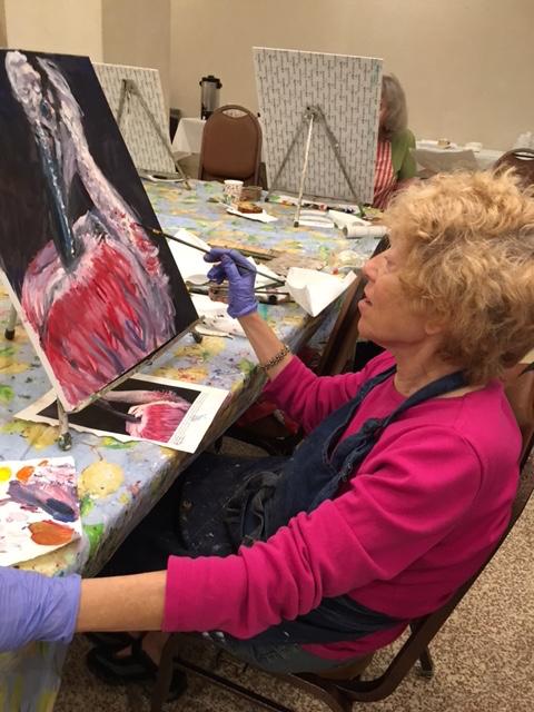 Marjorie Magid Painting
