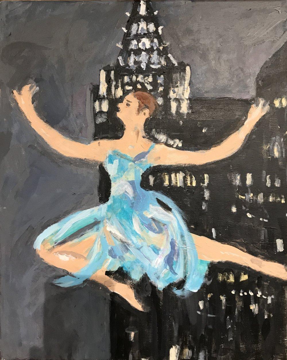 Leaping Dancer I