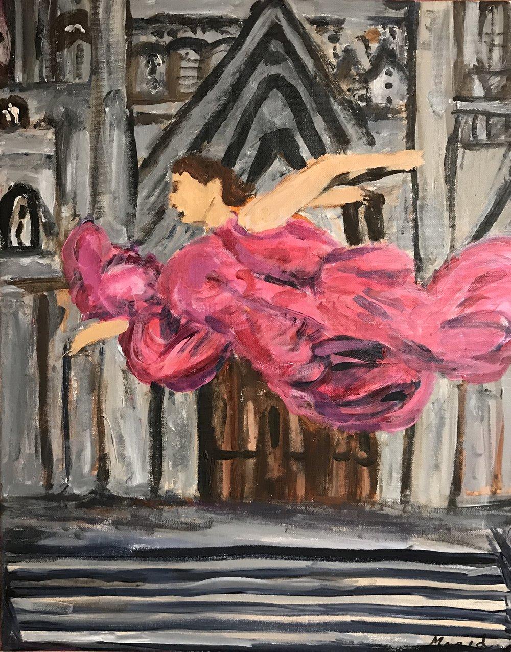 Leaping Dancer II